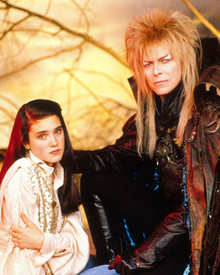 David Bowie & Jennifer Connelly in Labyrinth Poster and Photo