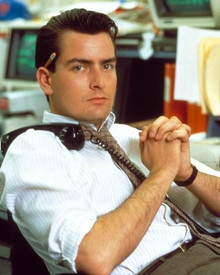 Charlie Sheen in Wall Street Poster and Photo