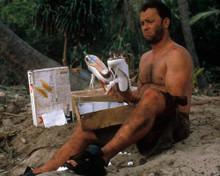 Tom Hanks in Cast Away a.k.a. Verschollen Poster and Photo