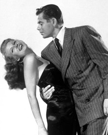 Rita Hayworth & Glenn Ford in Gilda Poster and Photo