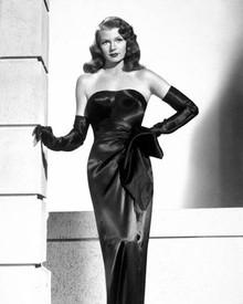 Rita Hayworth in Gilda Poster and Photo