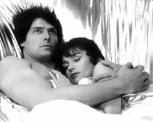Christopher Reeve & Margot Kidder in Superman 2 Poster and Photo