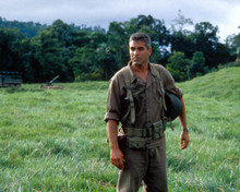George Clooney in The Thin Red Line Poster and Photo