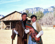 Kris Kristofferson & Kim Cattrall in Miracle in the Wilderness Poster and Photo
