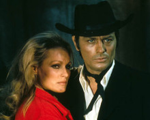 Alain Delon & Ursula Andress in Red Sun a.k.a. Soleil Rouge Poster and Photo