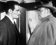 Charlton Heston & Orson Welles in Touch of Evil a.k.a. La Soif du Mal Poster and Photo