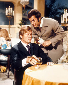Roger Moore & Tony Curtis in The Persuaders Poster and Photo