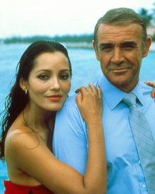 Sean Connery & Barbara Carrera in Never Say Never Again Poster and Photo