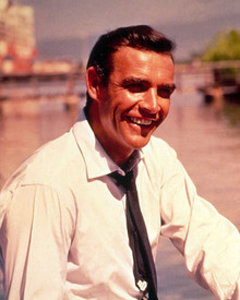 Sean Connery in Dr. No Poster and Photo