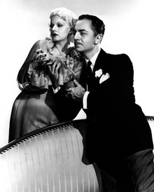 Jean Harlow & William Powell in Reckless (1935) Poster and Photo