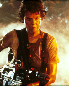 Sigourney Weaver in Alien Poster and Photo