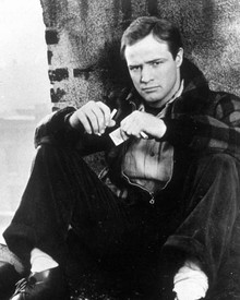 Marlon Brando in On the Waterfront a.k.a. Sur les Quais Poster and Photo
