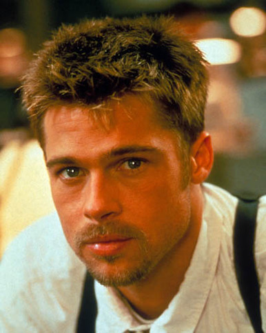 Brad Pitt in Seven Poster and Photo