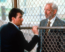 Charlie Sheen & Donald Sutherland in Shadow Conspiracy Poster and Photo