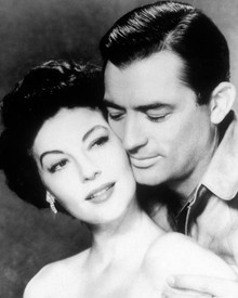 Gregory Peck & Ava Gardner in The Snows of Kilimanjaro Poster and Photo