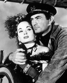 Gregory Peck & Ann Blyth in The World in his Arms Poster and Photo