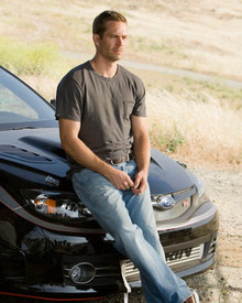 Paul Walker in Fast & Furious Poster and Photo