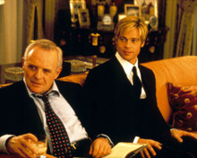 Brad Pitt & Anthony Hopkins in Meet Joe Black Poster and Photo