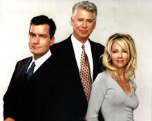 Charlie Sheen in Spin City Poster and Photo