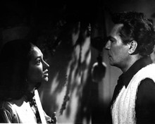 Peter Finch & Olivia Hussey in Lost Horizon (1973) Poster and Photo