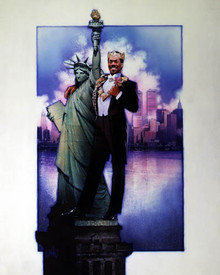 Eddie Murphy in Coming to America Poster and Photo