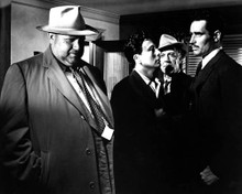 Orson Welles & Charlton Heston in Touch of Evil a.k.a. La Soif du Mal Poster and Photo