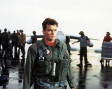 Charlie Sheen in Hot Shots Poster and Photo