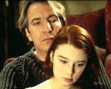 Alan Rickman & Georgina Cates Poster and Photo