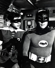 Adam West & Burt Ward in Batman (1965-68) Poster and Photo
