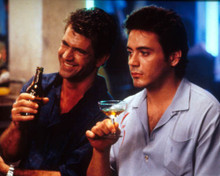 Mel Gibson & Robert Downey Jr. in Air America Poster and Photo