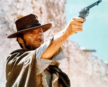 Clint Eastwood in For a Few Dollars More a.k.a. Per qualche dollaro in piu Poster and Photo