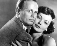 Richard Widmark & Gene Tierney in Night and the City Poster and Photo