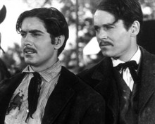 Tyrone Power & Henry Fonda in Jesse James a.k.a. Le Brigand Bien Aime Poster and Photo