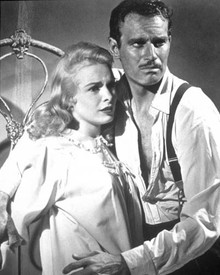 Charlton Heston & Janet Leigh in Touch of Evil a.k.a. La Soif du Mal Poster and Photo
