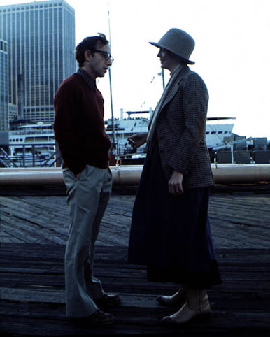 Diane Keaton & Woody Allen in Annie Hall Poster and Photo