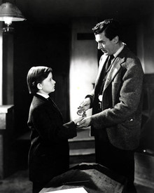 Roddy McDowall & Walter Pidgeon in How Green Was My Valley Poster and Photo