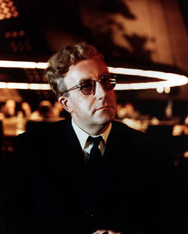 Peter Sellers in Dr. Strangelove: Or, How I Learned To Stop Worrying and Love the Bomb Poster and Photo
