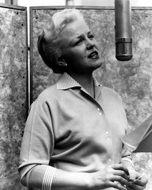 Peggy Lee Poster and Photo