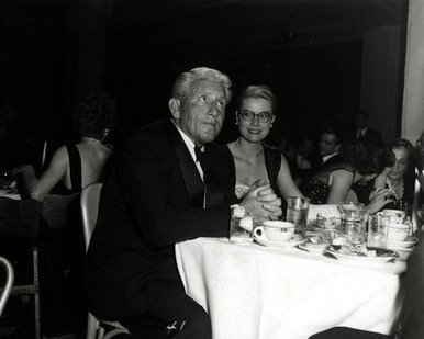 Grace Kelly & Spencer Tracy Poster and Photo