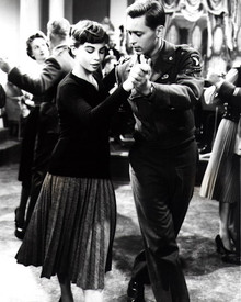 Leslie Caron & John Kerr in Gaby Poster and Photo
