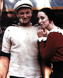 Robin Williams & Shelley Duvall in Popeye Poster and Photo