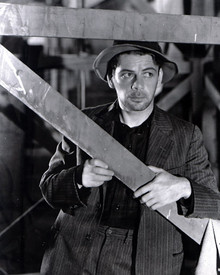 Paul Muni in I am a Fugitive From a Chain Gang Poster and Photo