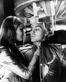 Sam Jones & Ornella Muti in Flash Gordon Poster and Photo