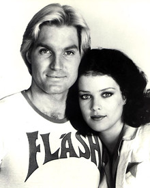 Sam Jones & Melody Anderson in Flash Gordon Poster and Photo