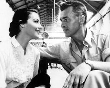 Ava Gardner & Stewart Granger in Bhowani Junction Poster and Photo