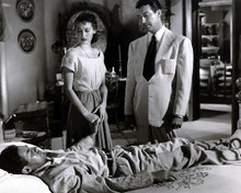 Ava Gardner & John Hodiak in The Bribe Poster and Photo