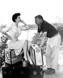 Ava Gardner & Clark Gable in Mogambo Poster and Photo
