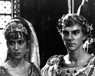 Malcolm McDowell & Helen Mirren in Caligula (1979) Poster and Photo