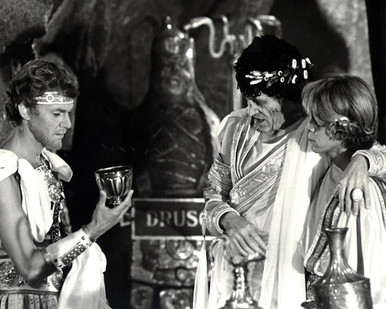 Malcolm McDowell & Peter O'Toole in Caligula (1979) Poster and Photo
