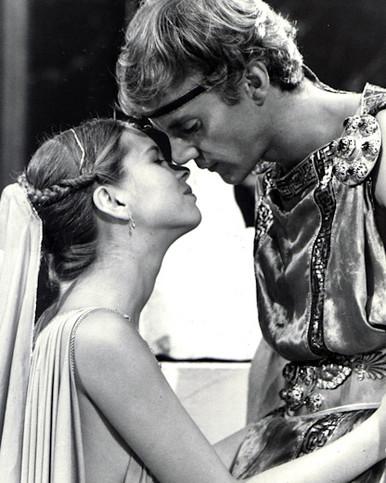 Malcolm McDowell & Teresa Ann Savoy in Caligula (1979) Poster and Photo